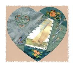 Sail Boat Heart