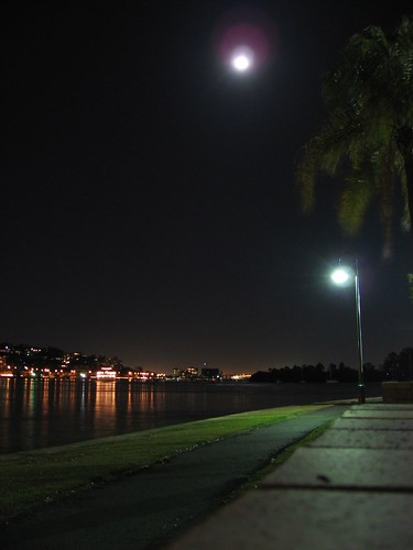 my feeble attempt at shooting the moon