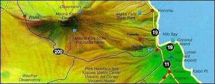 Hilo to Mauna Kea
