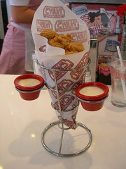 Ruby's Chicken Finger and Shake