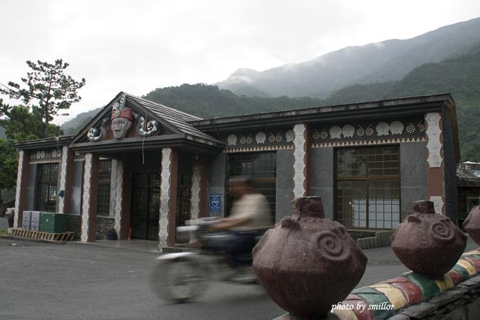 霧台魯凱文物館旁的表演活動禮堂