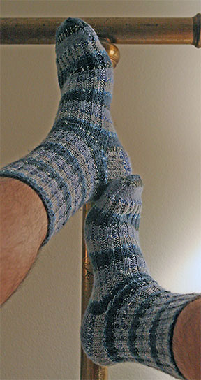 First Socks, Completed