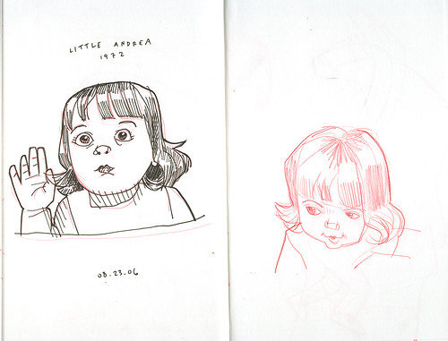 sketches of little andrea