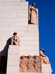 Statues on the ANZAC Memorial