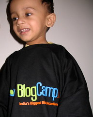 Google in the BlogCamp T-Shirt