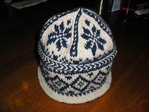Triple Pattern Watch Hat