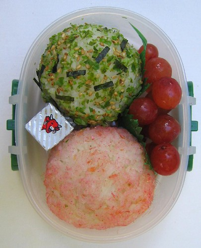Onigiri snack bento for toddler お弁当