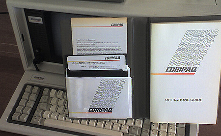 MS-DOS 1.14 Floppy disk and Manual