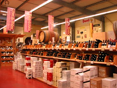 wine superstore in Calais