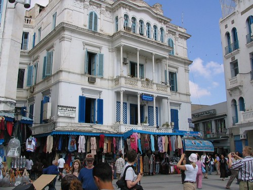 Centre of old town of Tunis