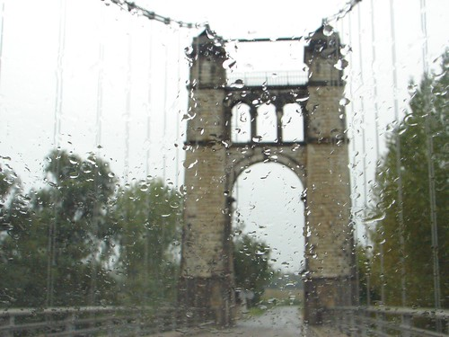 A rainy day's bridge