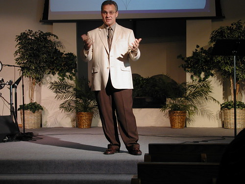 Pastor Bill Vincent, first sermon Skyway Church