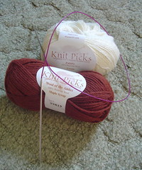 My Knitpicks order (so I can be one of the cool kids)