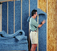 Recycled Blue Jean Insulation (by Bonded Logic)