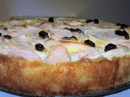 Rahmapfelkuchen