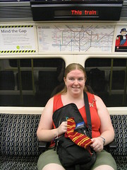 The sock rides the tube