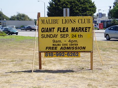 Annual Lion's Club Flea Market