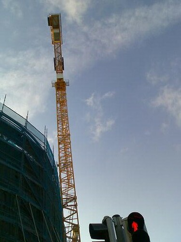 The Pearse Street Crane