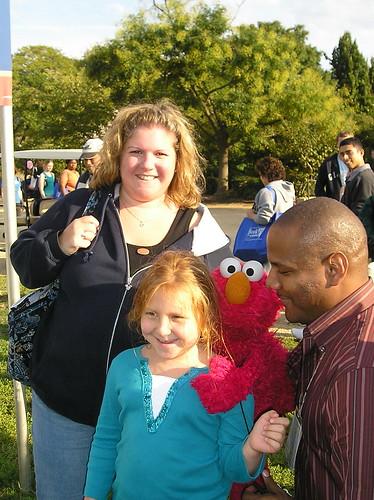 Elmo, Me, D, & K Clash