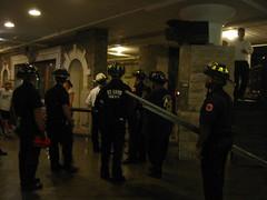 firemen in city museum