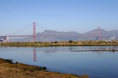 Hazy Golden Gate