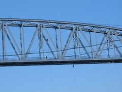Cape Cod Canal RR Bridge High Wire Act