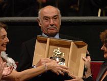 Sean Connery premiato a Roma