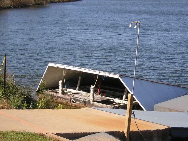 ramp on shore