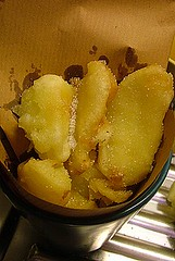 Apple tempura!