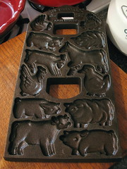 farm cookie mold
