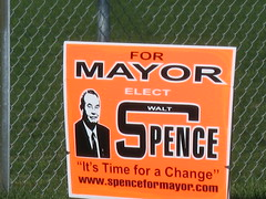 Municipal Election Sign 9