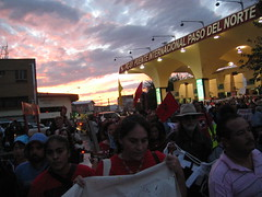 march against border wall at Border Social Forum in Juarez - 64