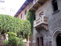 El balcón de Julieta.