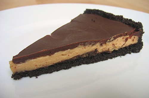 alpineberry: Chocolate Peanut Butter Tart