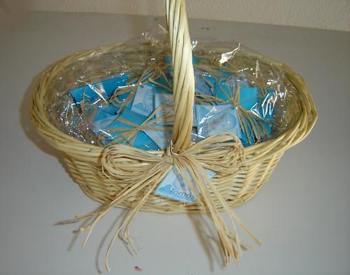 Caixinhas Ursinho Azul