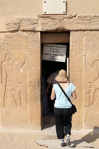 Entering the Tomb of MereRuka