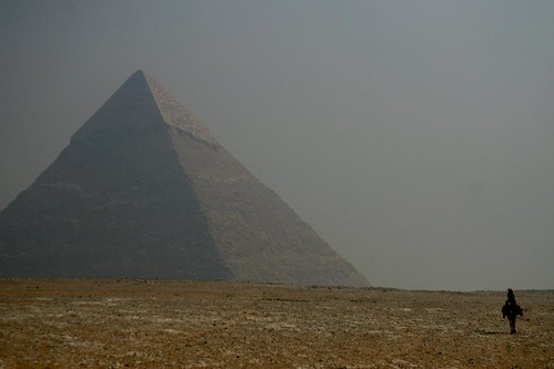 Pyramid of Chepren or Khafre
