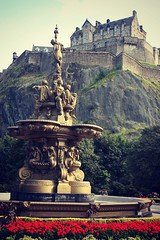 Scotland - Edinburgh Castle photo by © Jamie Mitchell