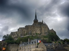 Stormy Sky Above Mont Saint-Michel photo by A Guy Taking Pictures