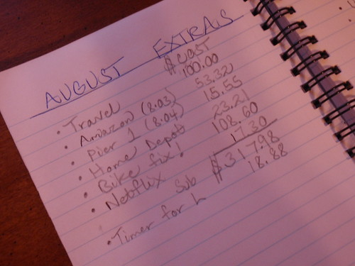August Extras