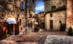The local restaurant in Assisi (explored) photo by Niels J. Buus Madsen