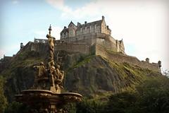 Edinburgh Castle photo by © Jamie Mitchell