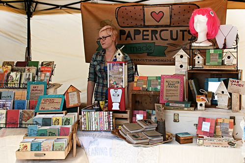PAPERCUTS handmade at the Lansing City Market