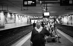 (Woman in Black Feeling the Circumvesuviana Blues) photo by Robbie McIntosh