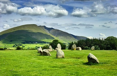 A portion of Castlerigg Stone Circle, England, UK photo by Beardy Vulcan