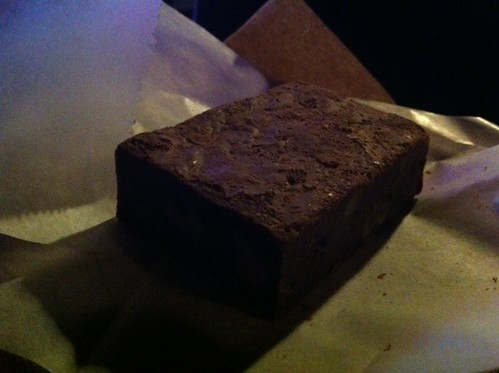 Delicious Brownie.
