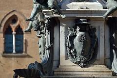 Bologna, particolare della fontana di Nettuno photo by pierluigi maria