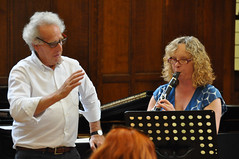 Avison Ensemble: Benjamin Zander music interpretation workshops, Day 3, Wednesday 15 August 2012, King's Hall, Newcastle University photo by Avison Ensemble