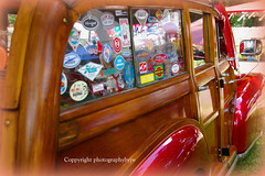 50 Chevrolet Woody Surfer in Burgundy photo by Photographybyjw