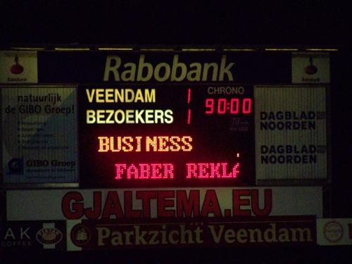 8046439655 d206f97a9f SC Veendam   SC Cambuur Leeuwarden 1 1, 1 oktober 2012